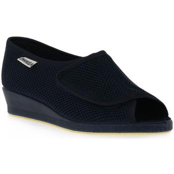 Schoenen Dames Derby Emanuela 342 BLU Blu