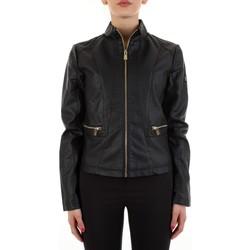 Textiel Dames Leren jas / kunstleren jas Yes Zee J475-G100 Nero