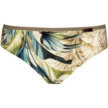 Textiel Dames Bikinibroekjes- en tops Lisca Hoge taille zwembroek Ensenada Donkergroen