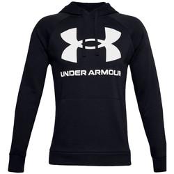 Textiel Heren Trainings jassen Under Armour Rival Fleece Big Logo Hoodie Noir