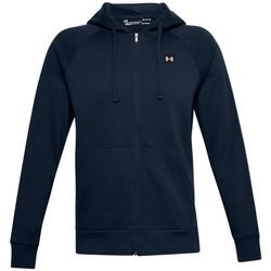 Textiel Heren Trainings jassen Under Armour Rival Fleece FZ Hoodie Bleu marine