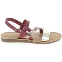 Schoenen Dames Sandalen / Open schoenen TBS Beattys Bordeaux Platine Rood