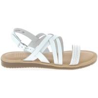 Schoenen Dames Sandalen / Open schoenen TBS Blaudia Croco Blanc Wit