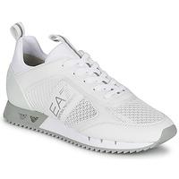 Schoenen Lage sneakers Emporio Armani EA7 BLACK&WHITE LACES Wit