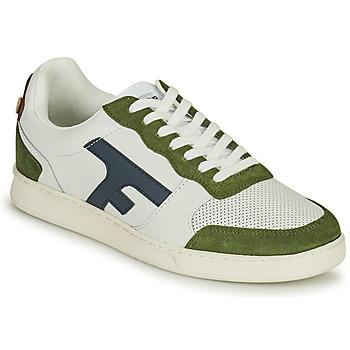 Schoenen Heren Lage sneakers Faguo HAZEL Wit / Kaki