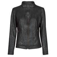 Textiel Dames Leren jas / kunstleren jas Desigual COMARUGA Zwart