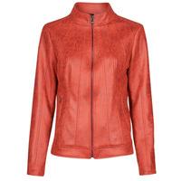 Textiel Dames Leren jas / kunstleren jas Desigual COMARUGA Rood