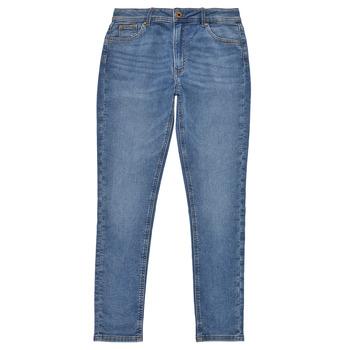 Textiel Meisjes Skinny Jeans Pepe jeans PIXLETTE HIGH Blauw