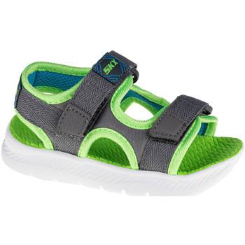 Schoenen Kinderen Outdoorsandalen Skechers C-Flex Sandal 2.0 Hydrowaves Grise