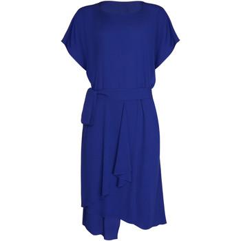 Textiel Dames Jurken Lisca Zomerjurk korte mouwen Nice Blauw