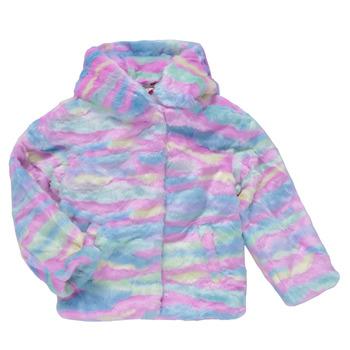 Textiel Meisjes Mantel jassen Desigual CONGO Multicolour