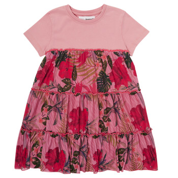 Textiel Meisjes Korte jurken Desigual ZAFIRO Roze