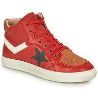 Schoenen Jongens Hoge sneakers Bisgaard ISAK Rood