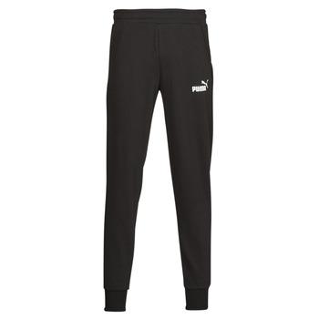 Textiel Heren Trainingsbroeken Puma ESS LOGO PANTS FL CL Zwart