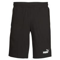 Textiel Heren Korte broeken / Bermuda's Puma ESS JERSEY SHORT Zwart