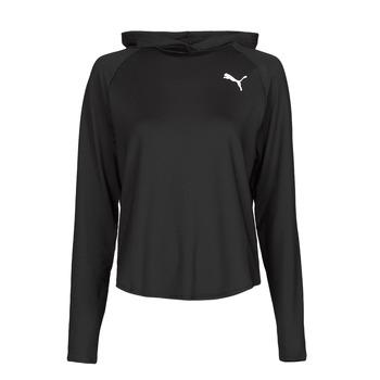 Textiel Dames Sweaters / Sweatshirts Puma ACTIVE HOODIE Zwart