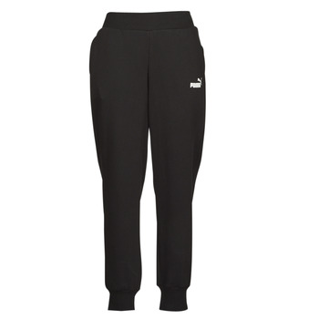 Textiel Dames Trainingsbroeken Puma ESS SWEAT PANT FL CL Zwart