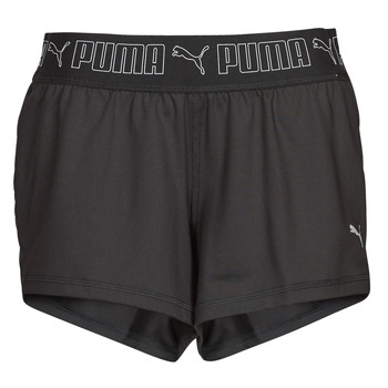 Textiel Dames Korte broeken / Bermuda's Puma TRAIN SUSTAINABLE SHORT Zwart