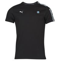 Textiel Heren T-shirts korte mouwen Puma BMW MMS T7 TEE Zwart