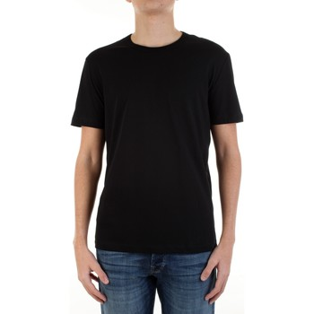 Textiel Heren T-shirts korte mouwen Ice Play F088-P400 Nero