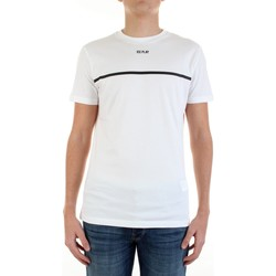 Textiel Heren T-shirts korte mouwen Ice Play F017-P400 Bianco