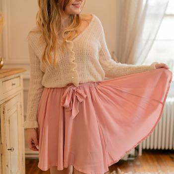 Textiel Dames Rokken Céleste EGLANTINE Roze