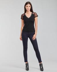 Textiel Dames 5 zakken broeken Morgan PETRA Marine
