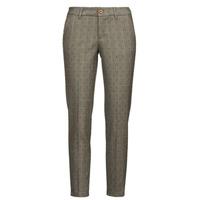 Textiel Dames 5 zakken broeken Freeman T.Porter CLAUDIA PONGO Grijs