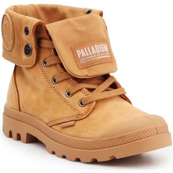 Schoenen Hoge sneakers Palladium Pampa Baggy NBK 76434-717 brown