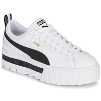 Schoenen Dames Lage sneakers Puma MAYZE Wit / Zwart