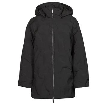 Textiel Dames Dons gevoerde jassen Emporio Armani 6K2B94 Zwart
