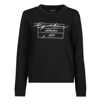 Textiel Dames Sweaters / Sweatshirts Emporio Armani 6K2M7R Zwart