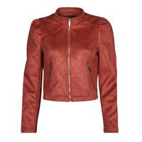 Textiel Dames Leren jas / kunstleren jas Only ONLSHELBY Roze
