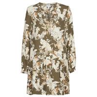 Textiel Dames Korte jurken Vero Moda VMSAGA Kaki / Wit