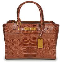 Tassen Dames Handtassen kort hengsel Guess RAFFIE CARRYALL Cognac