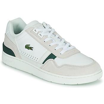 Schoenen Heren Lage sneakers Lacoste T-CLIP 0120 3 SMA Wit / Beige