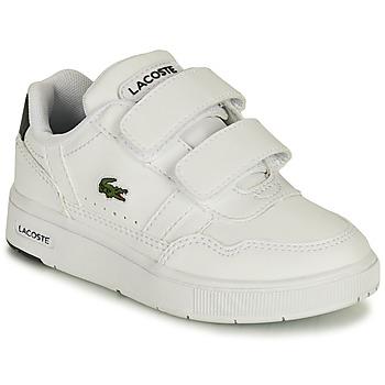 Schoenen Kinderen Lage sneakers Lacoste T-CLIP 0121 1 SUI Wit