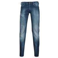 Textiel Heren Skinny jeans Jack & Jones JIGLENN JJROCK Blauw / Medium