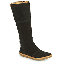 Schoenen Dames Hoge laarzen El Naturalista CORAL Zwart