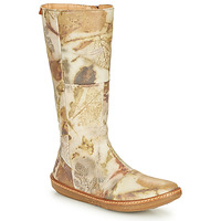 Schoenen Dames Hoge laarzen El Naturalista CORAL Grijs