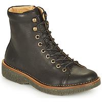 Schoenen Dames Laarzen El Naturalista VOLCANO Zwart
