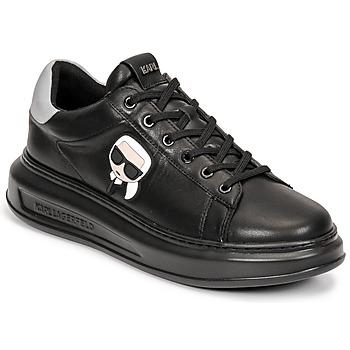 Schoenen Heren Lage sneakers Karl Lagerfeld KAPRI MENS KARL IKONIC 3D LACE Zwart