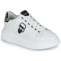 Schoenen Dames Lage sneakers Karl Lagerfeld KAPRI KARL IKONIC STUD TAB Wit