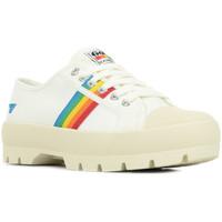Schoenen Dames Lage sneakers Gola Coaster Peak Rainbow Wit