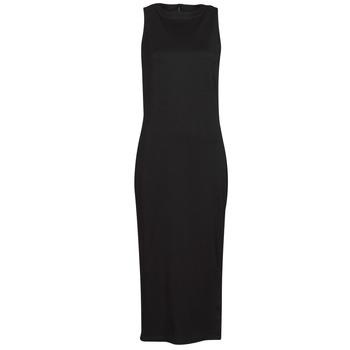 Textiel Dames Korte jurken Karl Lagerfeld KITTED WRAP DRESS Zwart