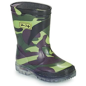 Schoenen Jongens Regenlaarzen Be Only ARMY Kaki