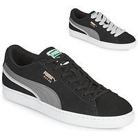 Schoenen Heren Lage sneakers Puma SUEDE TRIPLEX Zwart / Grijs
