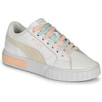 Schoenen Dames Lage sneakers Puma CALI STAR Wit / Multicolour