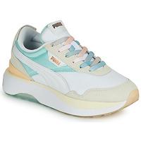 Schoenen Dames Lage sneakers Puma CRUISE RIDER Wit / Multicolour