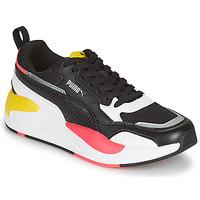Schoenen Dames Lage sneakers Puma XRAY2 SQUARE Zwart / Wit / Roze